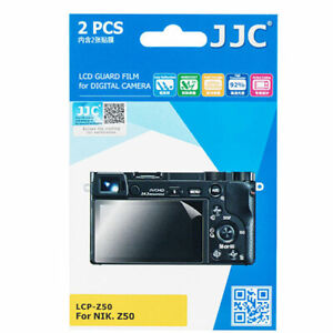JJC LCP-Z50 LCD Screen Protector protection film guard for Nikon Z50 Camera USA