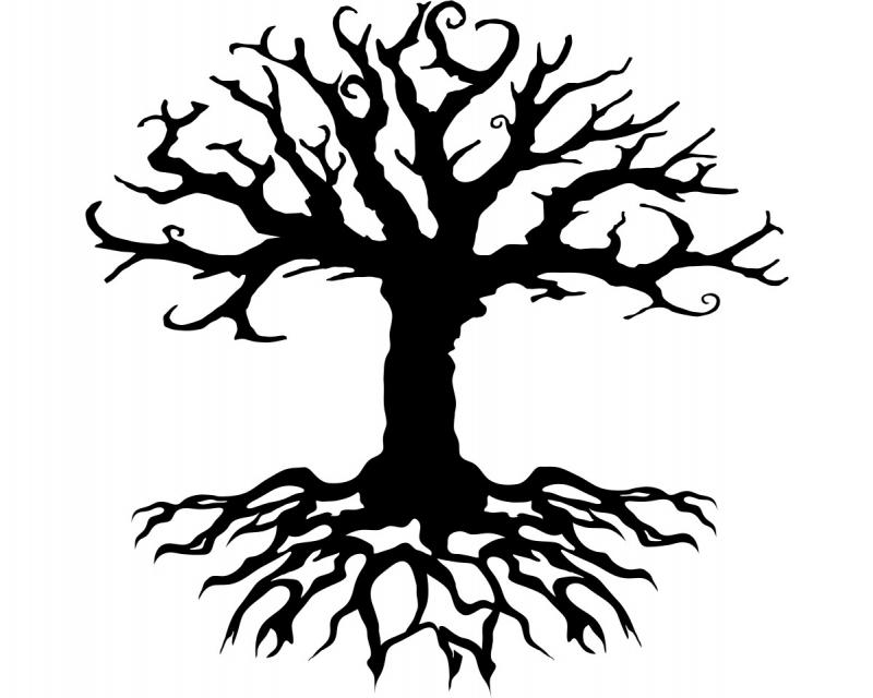 waf0837 Baum des Lebens Wandtattoo KIWISTAR Aufkleber Sephiroth