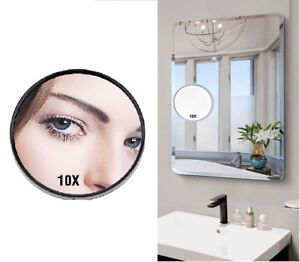 10x Magnifying Table Wall Makeup Mirror