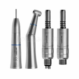 Dental Inner Low Speed Straight Handpiece Contra Angle 2/4H Motor fit KAVO mmw