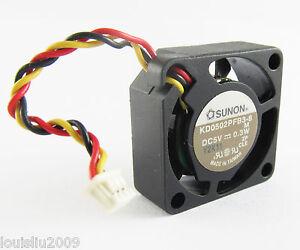 5pcs-SUNON-KD0502PFB3-8-5V-0-3W-25x25x10mm-25mm-2510-3pin-Connector-Mini-DC-Fan