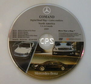 oem mercedes benz dvd nav navi gps navigation disc comand update 2009 8 0 amg ebay. Black Bedroom Furniture Sets. Home Design Ideas