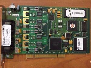 Dialogic-Corp-44-0053-02-4-Port-Telephone-Board-GM525207-A03-0017JPA