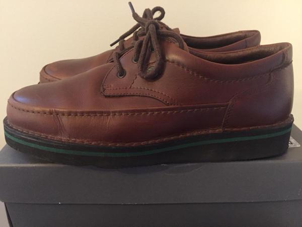 b3310e5c Men's Hush Puppies Mall Walker The Body Shoe antique antique antique brown  oxfords size 10 EW