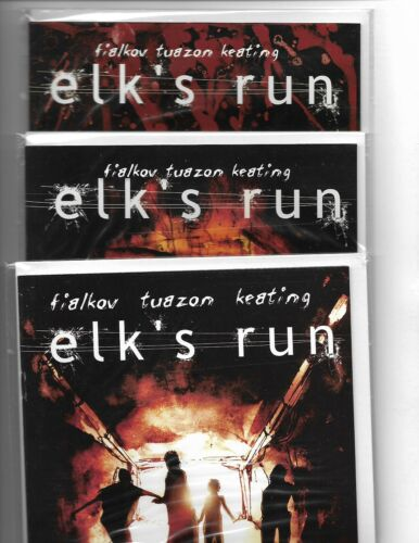 ELK'S RUN #13 COMPLETE MINISERIES HORSE AND BUGGY PRODUCTIONS