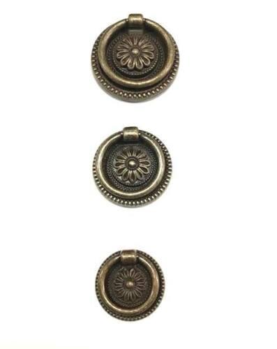 per mobili OMP PORRO serie 650 Pomo ad anello in ottone