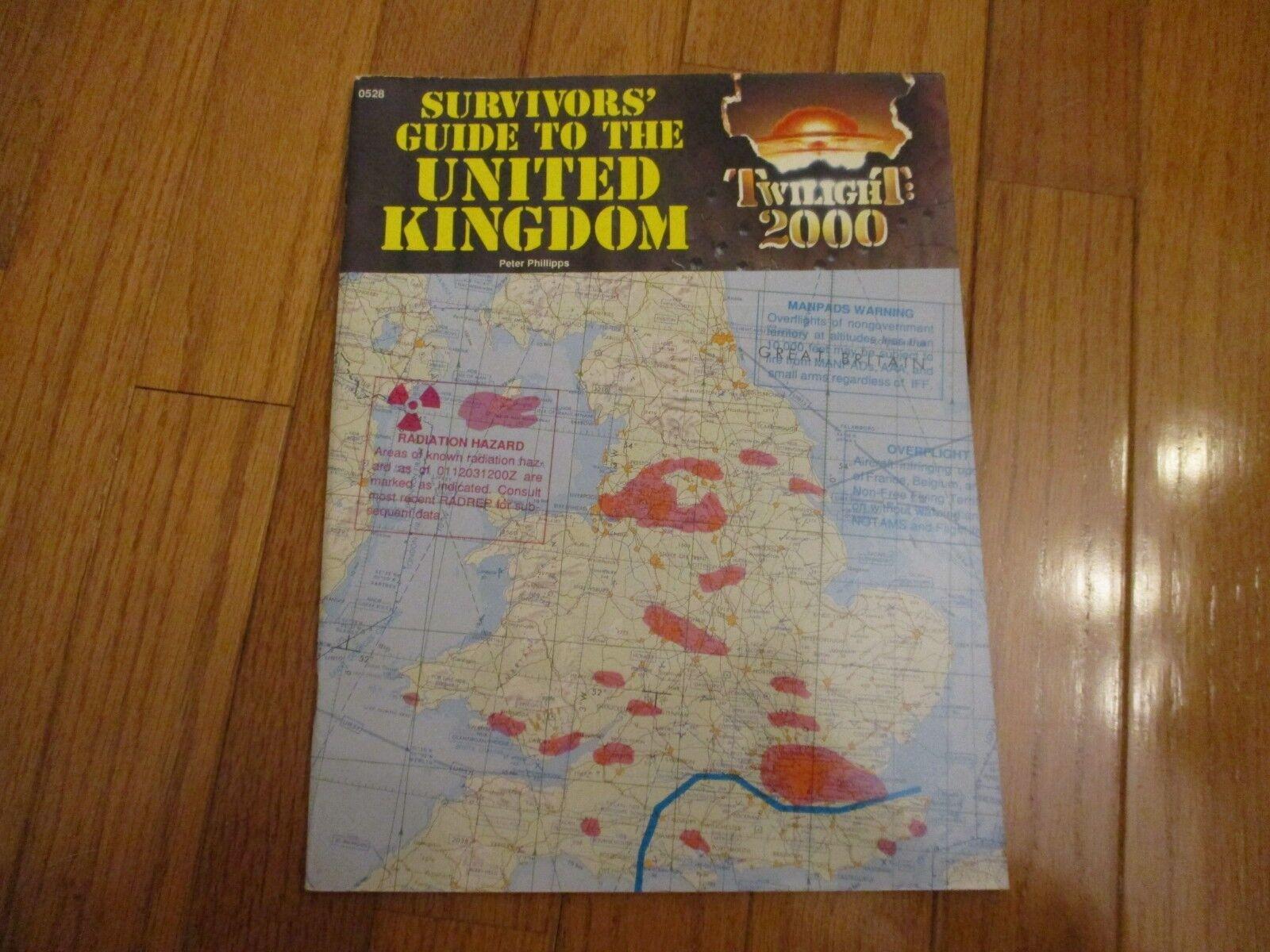 Twilight 2000 RPG Survivors' Guide to the United Kingdom