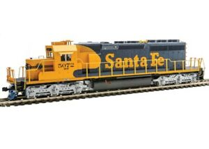 Kato 37-6616 HO Scale EMD SD40-2 Mid-Production SF #5072 DCC Ready Locomotive