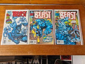Marvel Comics - The Beast - Limited Series Full Set 1-3  - 1997