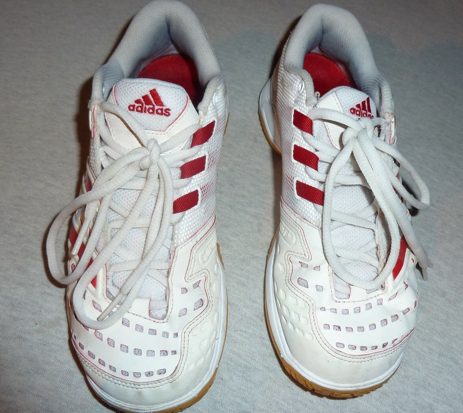 Adidas -  Sportschuh - Größe Turnschuh - Sneaker - Größe - 38 - rot/weiß 8da727