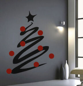 Christmas-Tree-Line-Decals-Christmas-Window-Stickers-Christmas-Decorations-h36