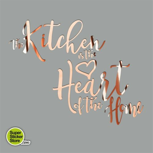 Kitchen Heart Home Wall Stickers Vinyl Decor Custom Personalised Decal