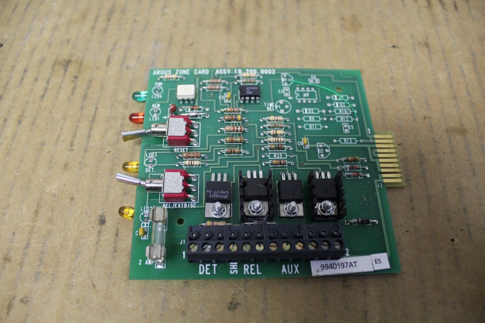 ARGUS ZONE CIRCUIT BOARD CARD 10.200.0002 10-200-0002 102000002