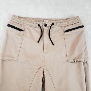 7e370880 Zara Boys 13/14 Skinny Pants Trousers Dressy Jeans Drawstring Khaki ...