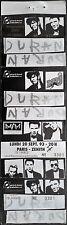 *** DURAN DURAN *** complete, untorn, unused concert ticket 1993 - Paris, France