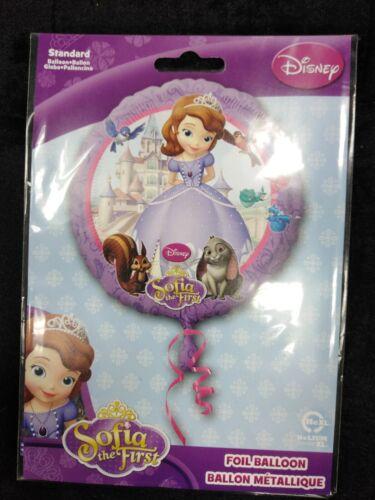 Sofia The First Balloon Disney Princess Helium Foil Gift Treat Kids Childrens