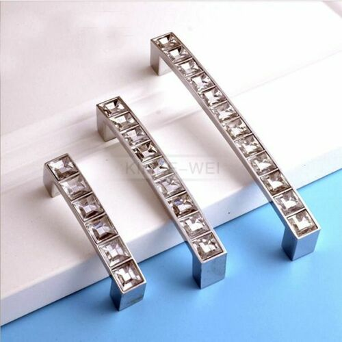 Crystal Pull Handle for Door Drawer Cabinet Furniture Cupboard Kitchen Decorati