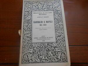 1938-Gustav-Rasch-Garibaldi-e-Napoli-nel-1860-Bari-Laterza-amp-Figli