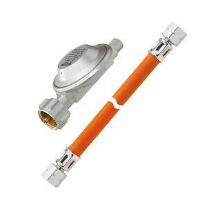 GOK-Gasschlauch-Gas-Schlauch-Druckminderer-Gasdruckregler-LKS-50-mbar-B-Ware