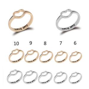 Friendship-Women-Girls-Love-Heart-Best-Friend-Ring-Promise-Jewelry