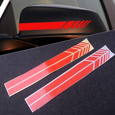2xSide Mirror Stripe Aufkleber für Mercedes Benz W204 W212 W117 Edition 1 AMG