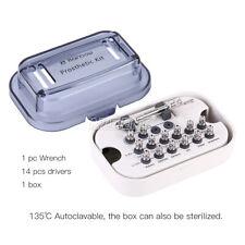 Dental Implant Llave De Torsin Ratchet 10 70ncm With Drivers Amp Wrench Kit