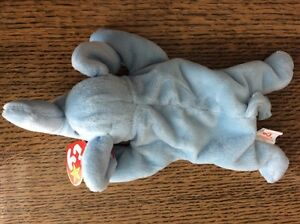5e53936a1c2 RARE MINT MAKE AN OFFER Peanut Light Blue Ty Beanie Baby Babies