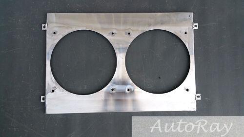 Alum Radiator+Shroud Dodge Charger 68-74 //Challenger 70-74// Plymouth GTX 68-72