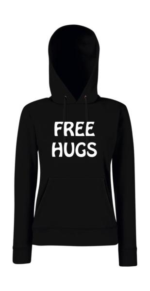 Aggressivo Free Hugs Ragazzina Con Cappuccio Pullover-r Sapore Puro E Delicato