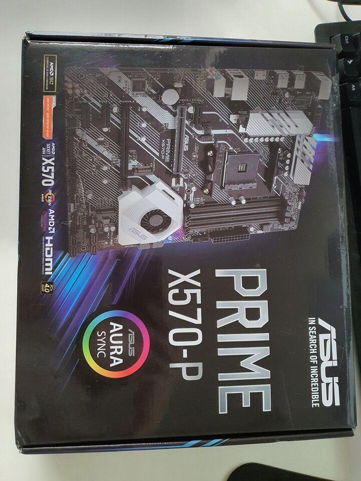 Motherboard, ASUS, X570 Prime P