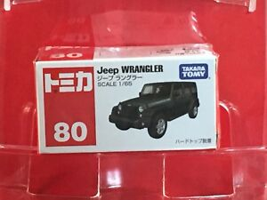 TAKARA-TOMY-TOMICA-No-80-1-65-Scale-Jeep-WRANGLER-Box-NEW-Japan-F-S