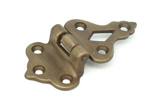 3-8-034-Offset-Cabinet-Hinge-Antique-Ice-Box-Hinge-Boat-Hinge-Antique-Brass-Finish