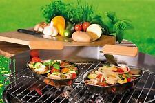 BBQ Grillkorb FUEGO Gemüse Gemüsekorb Grillschale Gemüsegriller Edelstahl LFGB