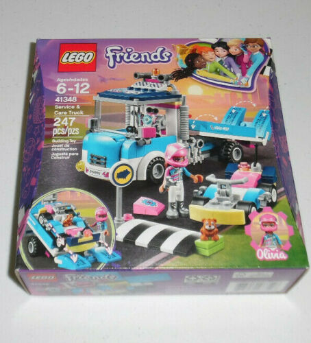 LEGO Friends Olivia Service and Care Truck 41348 247 Piece Building Set Toy NIB