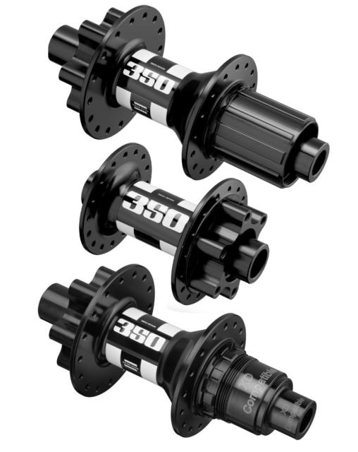 DT Swiss 350 Classic J Bend Front/&Rear Hub 32H-Thru Axle 6-bolt-XD/&Micro Spline