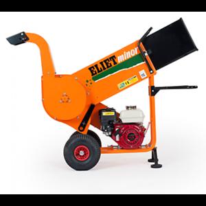 ELIET Minor 4S Petrol Shredder Chipper Garden Waste Trees Branches Bushes Hedges