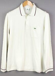 Lacoste-Camiseta-para-Hombres-Jersey-Cardigan-Talla-4-M-Kz541