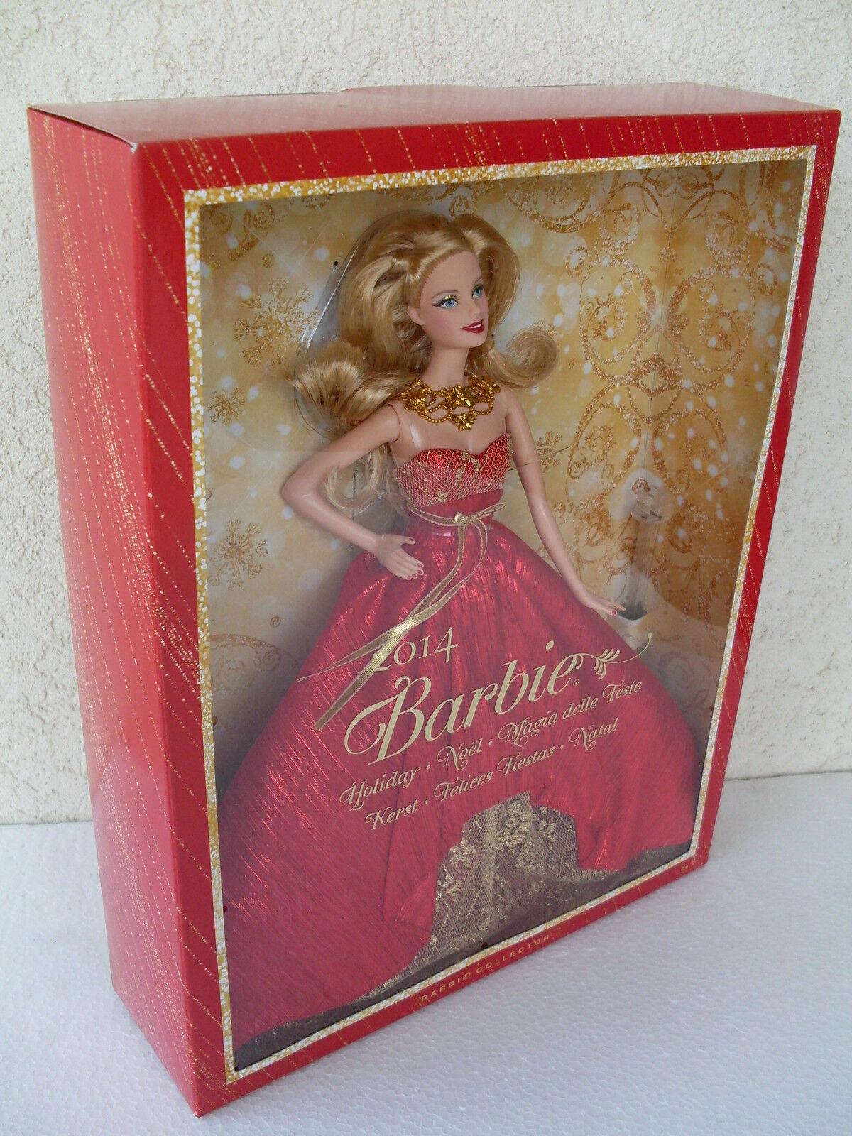 Barbie holiday magia delle feste 2014 natale christmas noel collector NRFB BDH13