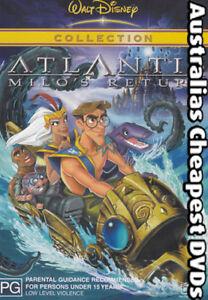 Atlantis-Milo-039-s-Return-DVD-NEW-FREE-POSTAGE-WITHIN-AUSTRALIA-REGION-4
