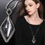 Damen-Halskette-mit-Anhaenger-Silber-lange-Kette-Schmuck-Geschenk-Weihnachten Indexbild 6