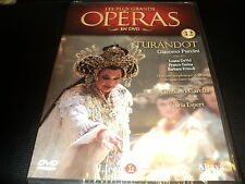 "DVD NEUF ""TURANDOT"" Collection LES PLUS GRANDS OPERAS N°32"