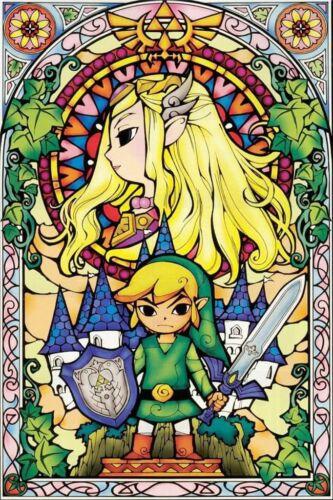 New The Legend Of Zelda Breath Of The Wild Diamond Painting Wall Art Print Decor