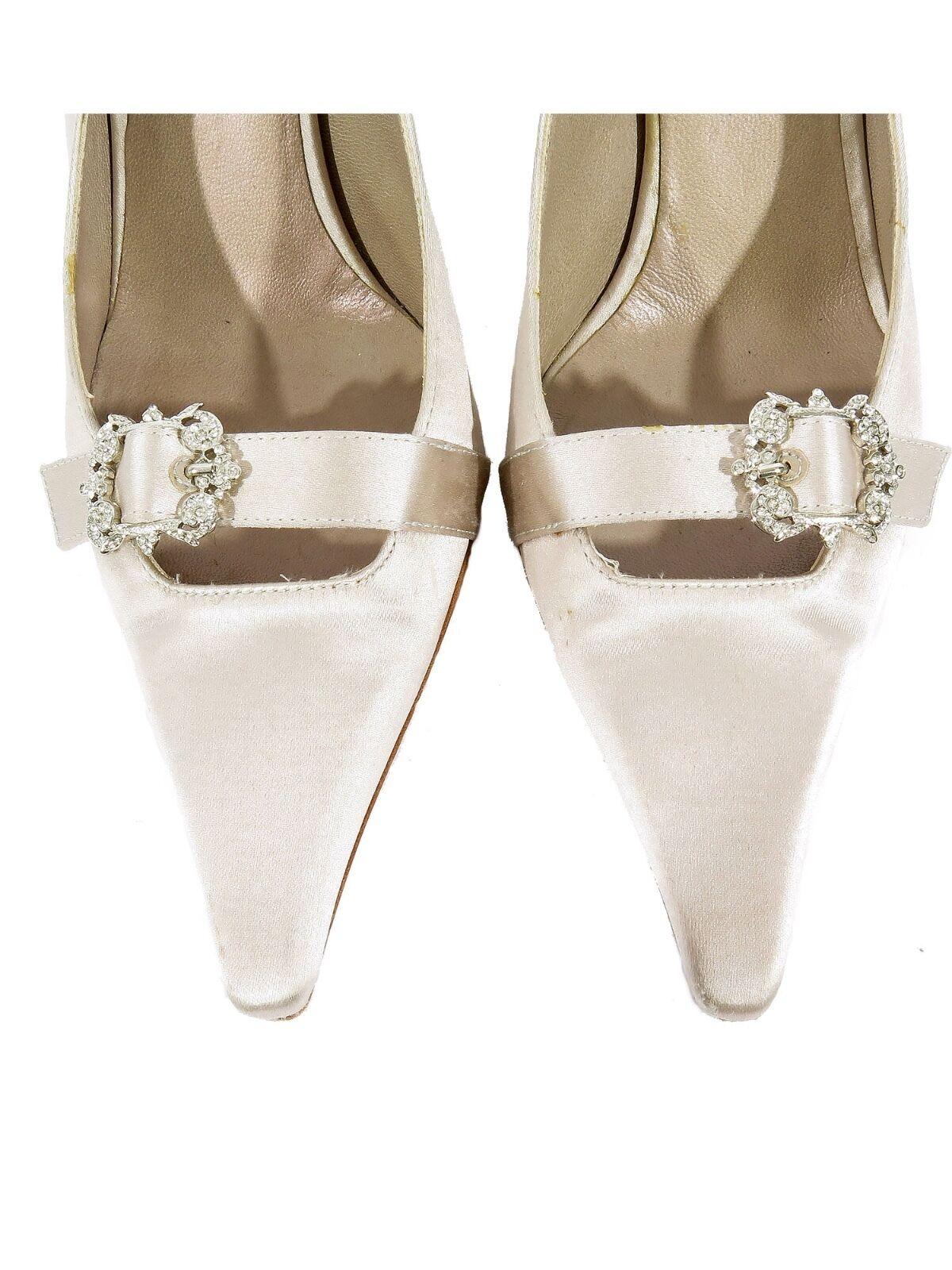 Badgley Mischka Zapatos Hebilla de 37) Cristal (tamaño 37) de 252528