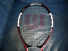WILSON NCODE 5 N5 FORCE OVERSIZE 110 TENNIS RACKET 4 3/8 EU3 HS3 LIGHT