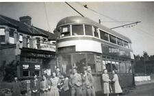 Tram RP photo card (B) Millbrook Southampton League Special 1945