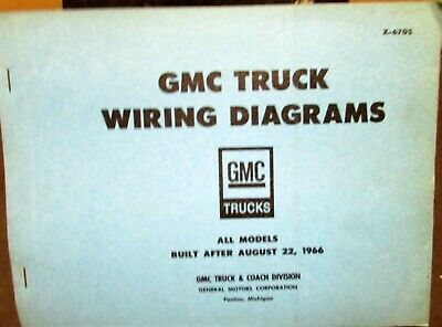1967 GMC Dealer Electrical Wiring Diagram Service Manual ...