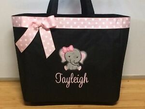 Personalized Baby Diaper Bag Tote
