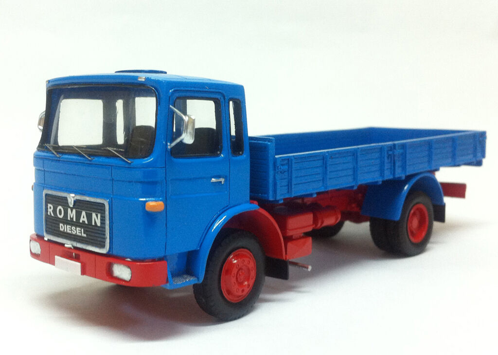 Resin 1 50 Camion ROMAN 8.135F - Ready Made by Fankit Models