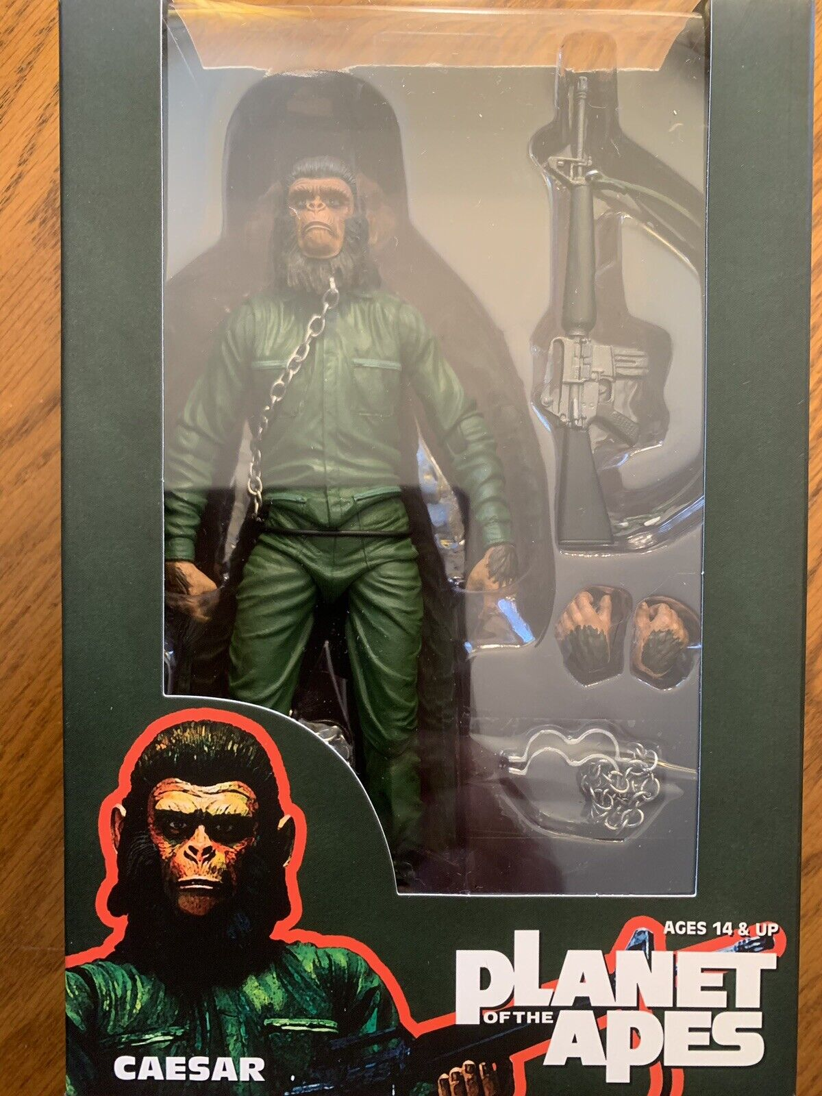 NECA Planet Of The Apes Classic Caesar SDCC 2015 Exclusive