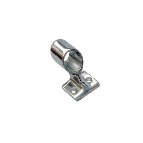 Supporto centrale 60° corrimano pulpito microfusione lucido tubo ø22 mm AISI 316